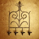 Mediterranean Wall Candle Stand by Cherish