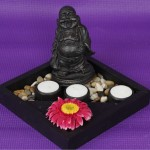 Laughing Buddha 3 Tealights Set By Rituals