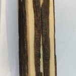Pillar Candle with Natural Wood Bark Inlay, by Rituals
